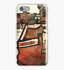 Narrow Boat Ilford iPhone Case/Skin