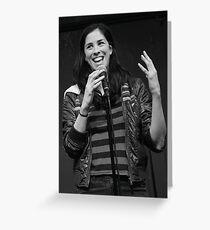 Sarah Silverman Greeting Card