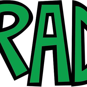 Rad pocket logo by Llamarama13