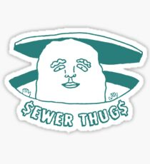 The Sewer Thug (Green) Sticker
