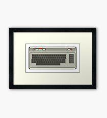 Commodore 64 Pixel Art Framed Print