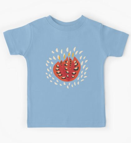 Abstract Red Tulip Kids Clothes