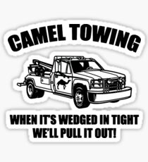 Camel Towing Wrecking Service Sticker