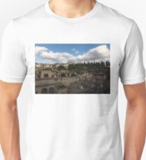 Ancient Herculaneum Ruins - Panoramic View from the Top Unisex T-Shirt