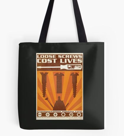 Time War Propaganda II Tote Bag