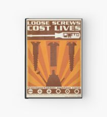 Time War Propaganda II Hardcover Journal