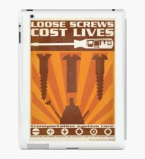 Time War Propaganda II iPad Case/Skin