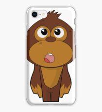Dumb - Mad Monkey iPhone Case/Skin