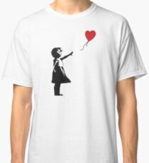 Banksy - Girl with Balloon Classic T-Shirt