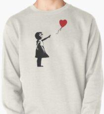Banksy - Girl with Balloon Pullover Sweatshirt