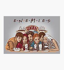 Enemies Photographic Print