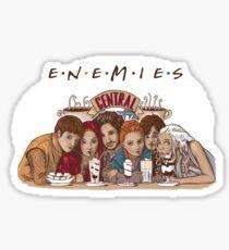 Enemies Sticker