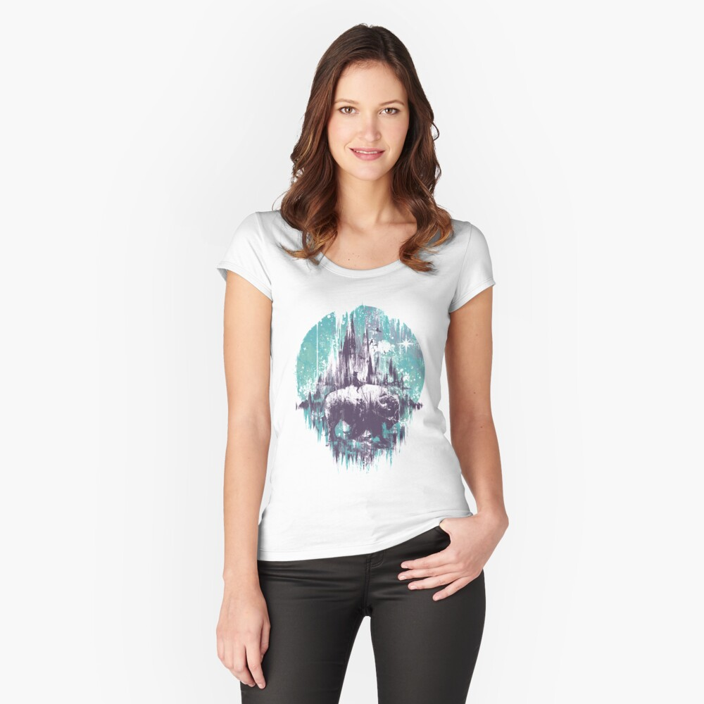 wanderlust Fitted Scoop T-Shirt