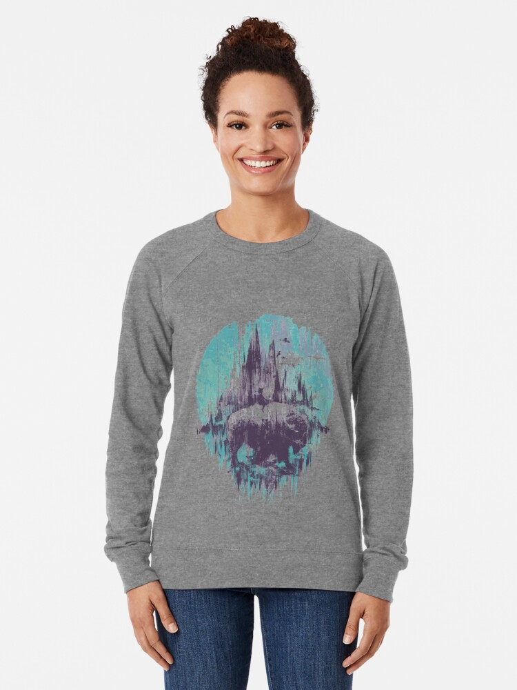 Alternate view of wanderlust Lightweight Sweatshirt