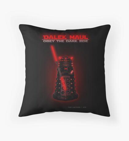 Dalek Maul Throw Pillow