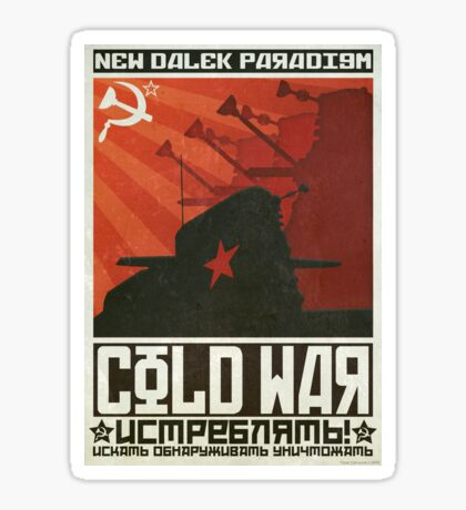 Cold Time War Sticker
