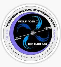 Wolf 1061c Mission Patch Sticker