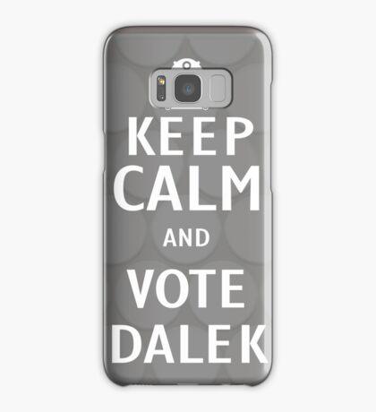 Keep calm and vote Dalek Samsung Galaxy Case/Skin