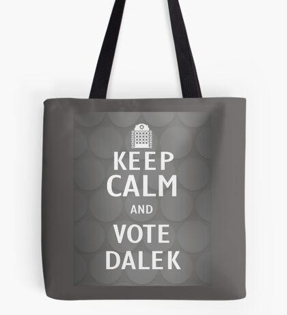 Keep calm and vote Dalek Tote Bag