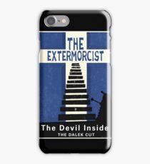 The Devil Inside. The Dalek Cut. iPhone Case/Skin