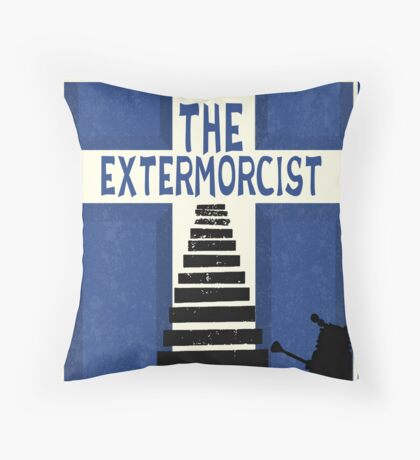 The Devil Inside. The Dalek Cut. Throw Pillow