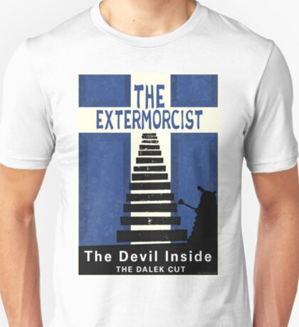 The Devil Inside. The Dalek Cut. T-Shirt