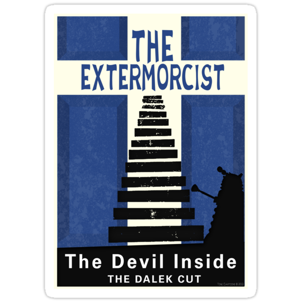 The Devil Inside. The Dalek Cut. by ToneCartoons