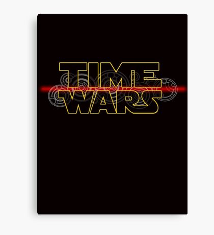 Time Wars  Canvas Print