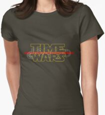 Time Wars  Womens Fitted T-Shirt