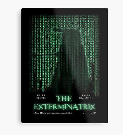 THE EXTERMINATRIX Metal Print