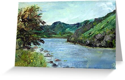 Lyn Crafnant Reservoir by Carol Rowland