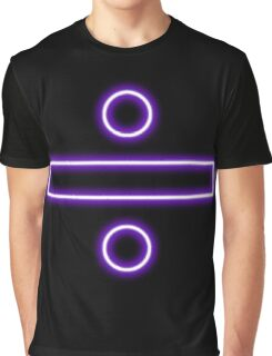 Division sign (neon)  Graphic T-Shirt