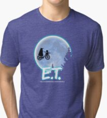Exterminating Terrestrials Tri-blend T-Shirt
