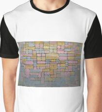 Piet Mondrian Graphic T-Shirt