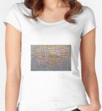 Piet Mondrian Women's Fitted Scoop T-Shirt