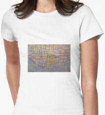 Piet Mondrian Women's Fitted T-Shirt