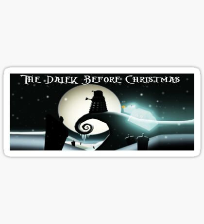 Dalek Before Christmas Sticker