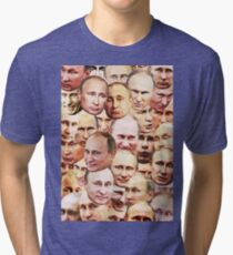 Vladimir Putin Tri-blend T-Shirt