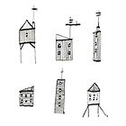 A Collection of Buildings by LotteFisher