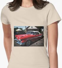 Classic Car 2 Womens Fitted T-Shirt