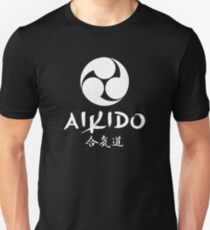 Aikido Mitsudomoe Symbol T-Shirt