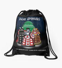 Marvel at the Su-WHO-per-heroes Drawstring Bag
