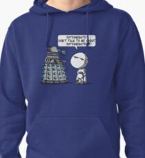 Marvin meets Who? Pullover Hoodie