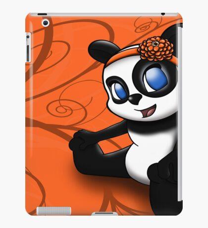 Happy Panda Floral iPad Case/Skin