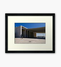 People In Town - Nations' Park Lisbon Framed Print