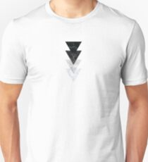 Marble Triangles Unisex T-Shirt