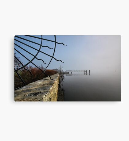 Riverfront Estate  -  Essex, Connecticut Canvas Print