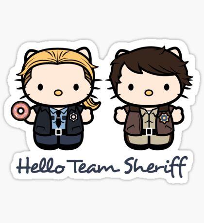 Team Sheriff  Sticker