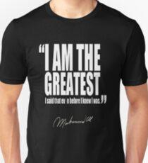 I AM THE GREATEST ALI TSHIRT Unisex T-Shirt