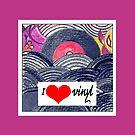 Retro love:I heart vinyl by Deepthi  Horagoda